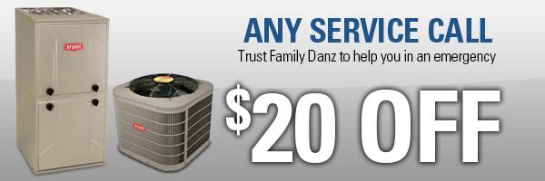 service special family danz