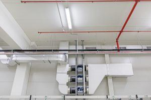 commercial air handler from family danz