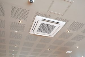ac vent on commercial ceiling