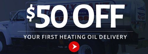 Heating oil delivery offer