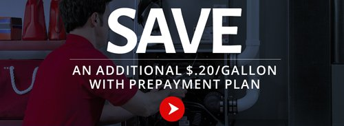 Fuel delivery prepayment offer