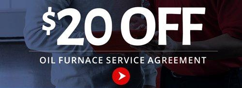 Oil furnace service agreement offer